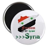 Freedom for Syria Magnet