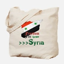 Freedom for Syria Tote Bag