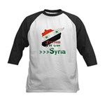 Freedom for Syria Kids Baseball Jersey