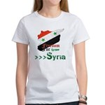 Freedom for Syria Women's T-Shirt