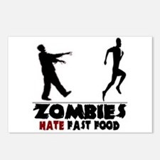 Funny Zombies Postcards (Package of 8)