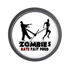 Funny Zombies Wall Clock