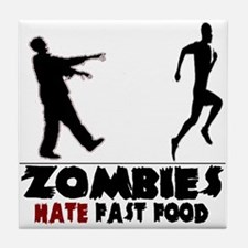 Funny Zombies Tile Coaster