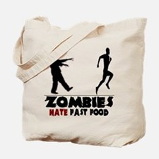 Funny Zombies Tote Bag