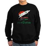 Freedom for Syria Sweatshirt (dark)