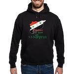 Freedom for Syria Hoodie (dark)