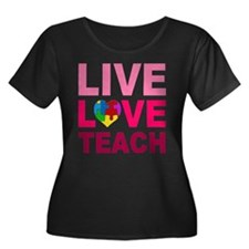 Live Love Teach Autism T