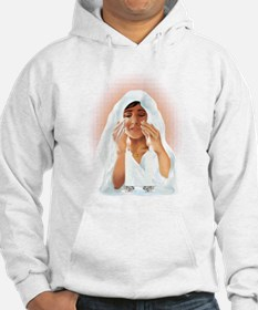 Best Wishes For Passover-glow Hoodie