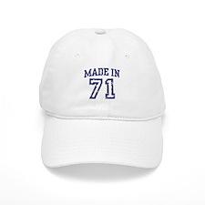 Made in 71 Baseball Cap