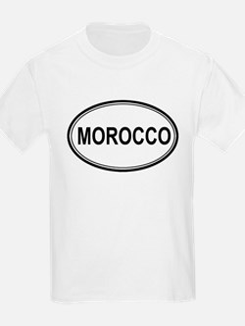 Morocco Euro Kids T-Shirt