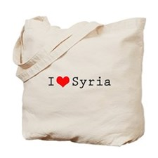 I love Syria Tote Bag