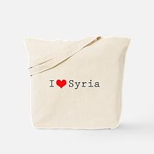 I love Syria Tote Bag