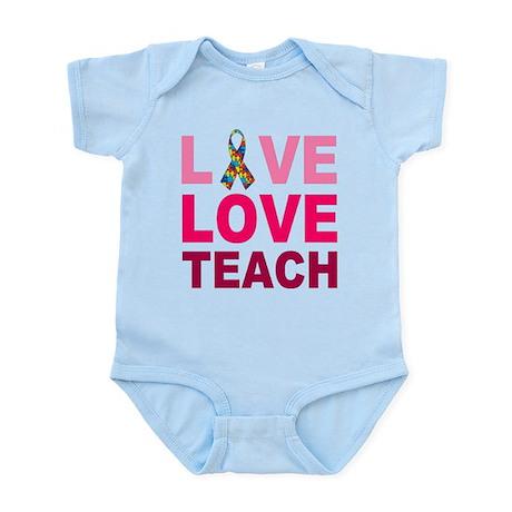 Live Love Teach Autism Infant Bodysuit