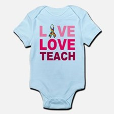 Live Love Teach Autism Infant Bodysuit