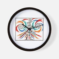 Renaissance Performer Wall Clock