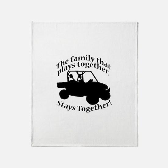 Family Plays Throw Blanket