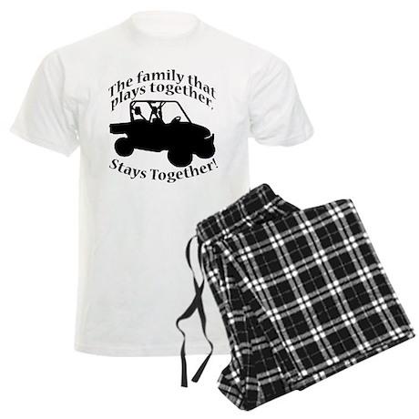 Family Plays Men's Light Pajamas