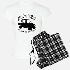 Family Plays Pajamas