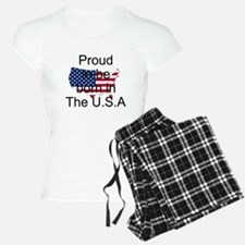 born in the u.s.a Pajamas