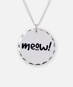 Meow! Cat-Themed Necklace