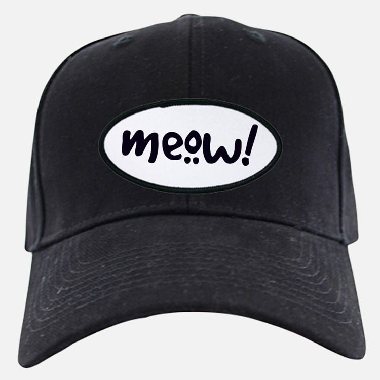 Meow! Cat-Themed Baseball Hat