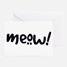 Meow! Cat-Themed Greeting Cards (Pk of 10)