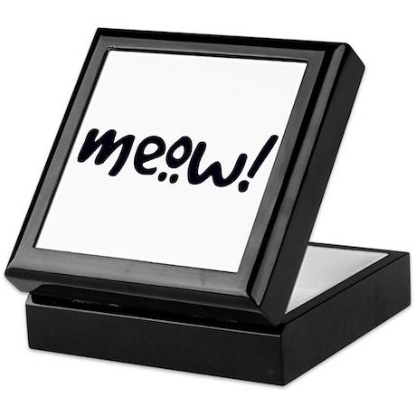 Meow! Cat-Themed Keepsake Box