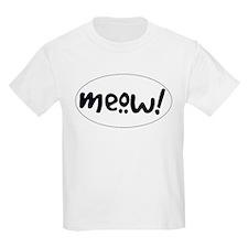 Meow! Cat-Themed T-Shirt