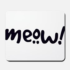 Meow! Cat-Themed Mousepad