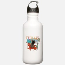 Cairn Terrier Chillin' Water Bottle