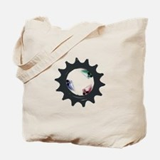fixed gear cycling Tote Bag