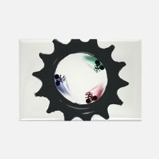 fixed gear cycling Rectangle Magnet