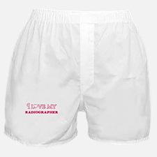 I love my Radiographer Boxer Shorts
