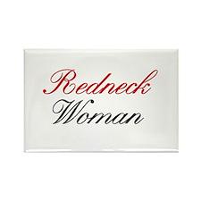 Redneck Woman Rectangle Magnet