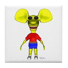 3D Ratboy Genius Tile Coaster