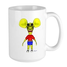 3D Ratboy Genius Mug