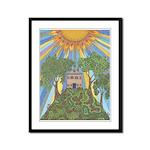God's Love Framed Panel Print