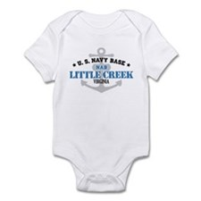 US Navy Little Creek Base Infant Bodysuit