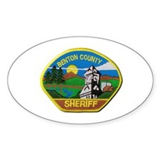 Benton County Sheriff Decal