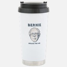 Bernie Speaks For Me Stainless Steel Travel Mug