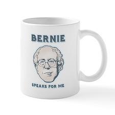 Bernie Speaks For Me Mug