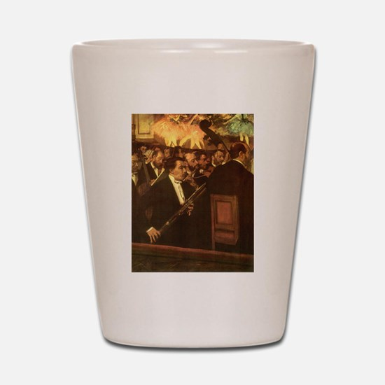 Orchestra of Opera by Degas Shot Glass