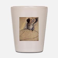 The Dancer by Edgar Degas Shot Glass
