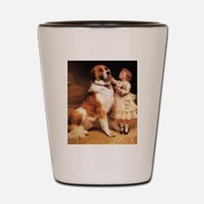 Trust by Charles Burton Barber Shot Glass