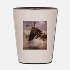 Breezy Riding by Koerner Shot Glass