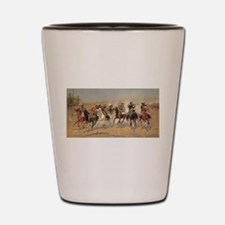 A Dash For Timber by Remington Shot Glass