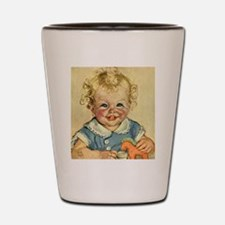 Vintage Cute Baby Shot Glass