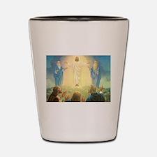 Vintage Jesus Christ Shot Glass