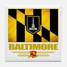Baltimore Pride Tile Coaster