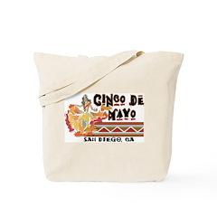 Cinco de Mayo San Diego Tote Bag